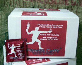 Carton of Fitness Coffee Pods