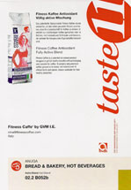 Anuga Taste11 Award for Fitness Coffee®
