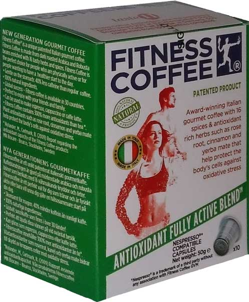 Fitness Coffee compatible for Nespresso machines