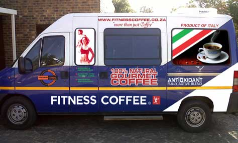 Fitness Coffee VAN