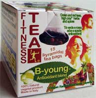 Fitness Tea® B-young: active tpyramidal tea bags