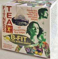 Fitness Tea® B-fit: active tpyramidal tea bags